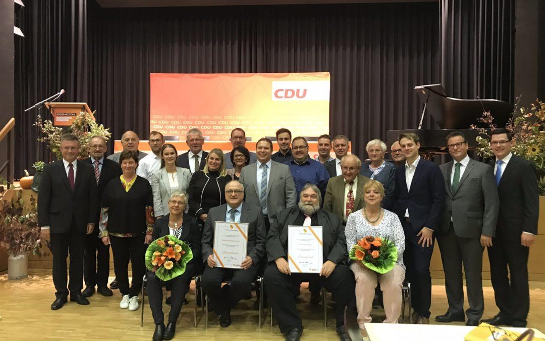 Mit einem starken Team in erfolgreiche Zeiten – CDU Neckar-Odenwald wählt neuen Kreisvorsitzenden