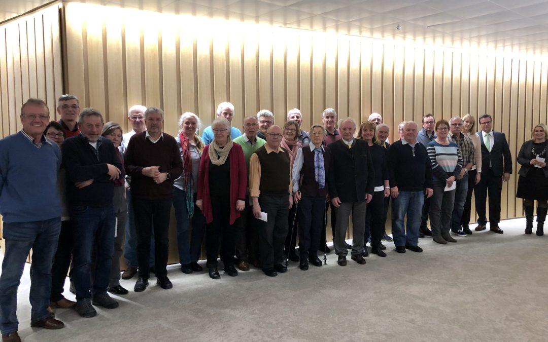 Besuch aus der Heimat im Stuttgarter Landtag