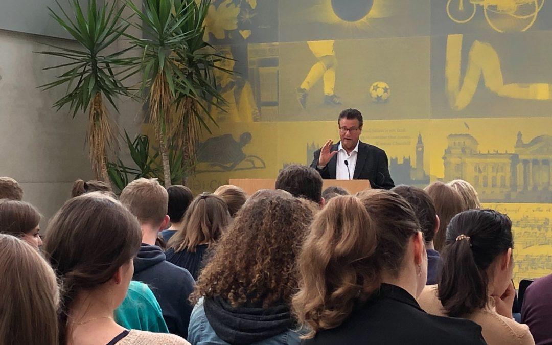 EU-Schulprojekttag – großes Interesse Jugendlicher