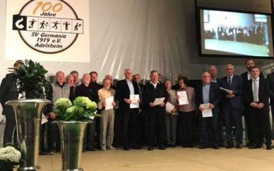 SV Germania Adelsheim feiert 100. Geburtstag