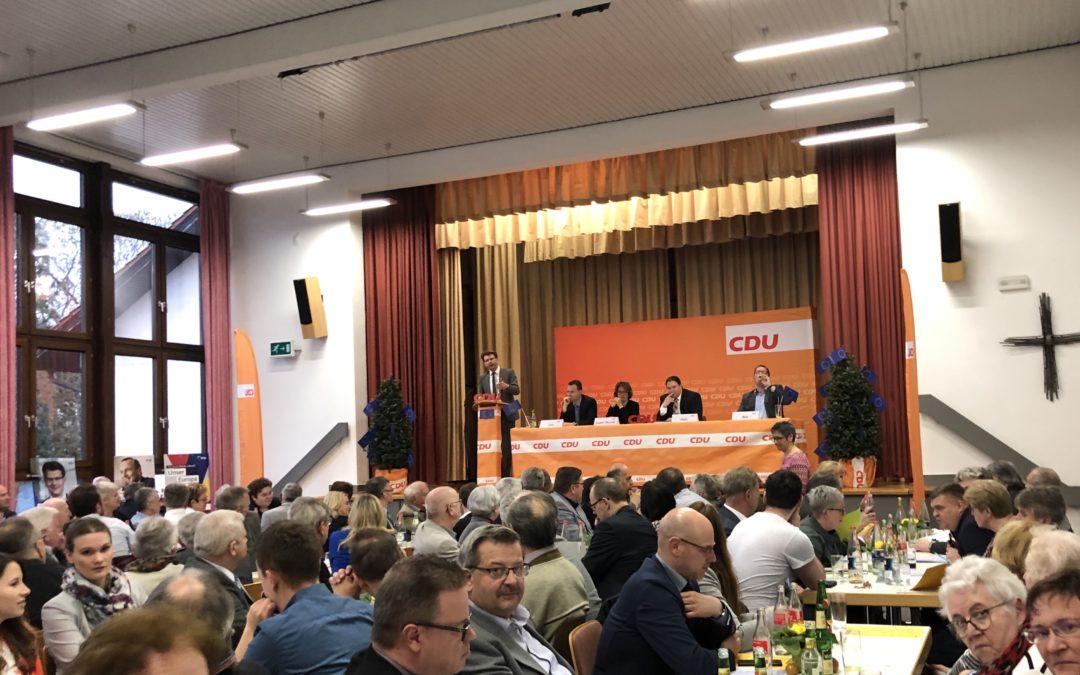 Kreisparteitag in Obrigheim – Caspary zu Gast