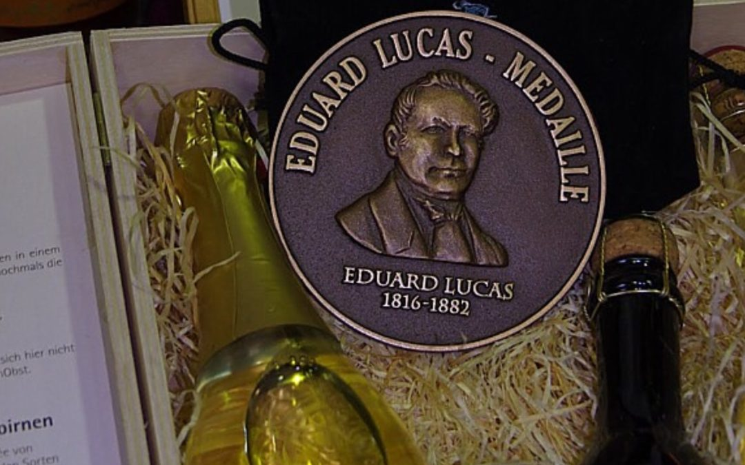 Eduard-Lucas-Medaille verliehen