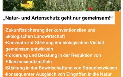 Eckpunktepapier zum Artenschutz vorgestellt
