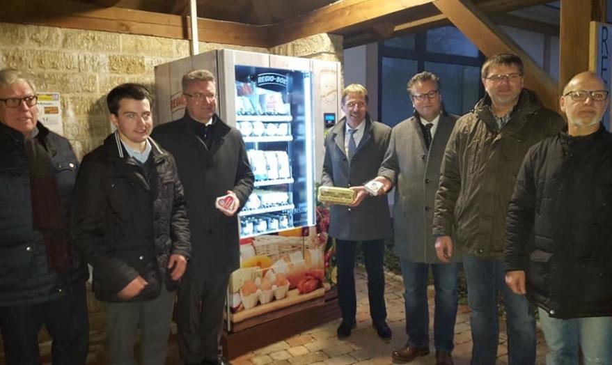 Ein Aushängeschild für Regionale Produkte – Regio-Box in Schlierstadt eröffnet