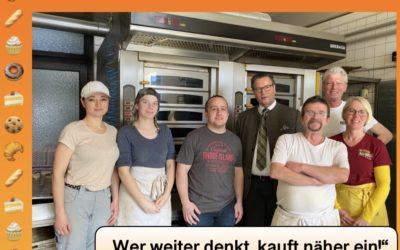 Zu Besuch bei der Bäckerei Seitz in Gerichtstetten