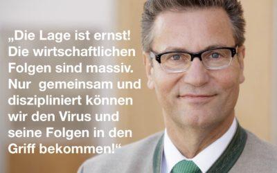 """Newsletter 02/2020 """"Der Coronavirus und seine Folgen"""""""