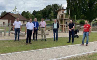 Glück auf für den Mehrgenerationenplatz in Schweinberg