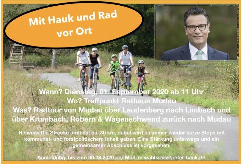 Mit dem Rad durch den vorderen Odenwald