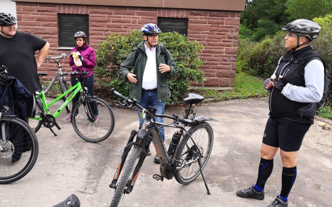 Radtour durch den vorderen Odenwald