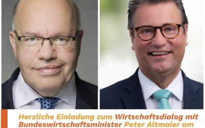 Herzliche Einladung zum Wirtschaftsgipfel mit Minister Altmaier