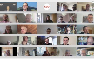 Videoschalte mit Jens Spahn – Krankenhausversorgung im Ländlichen Raum wichtig