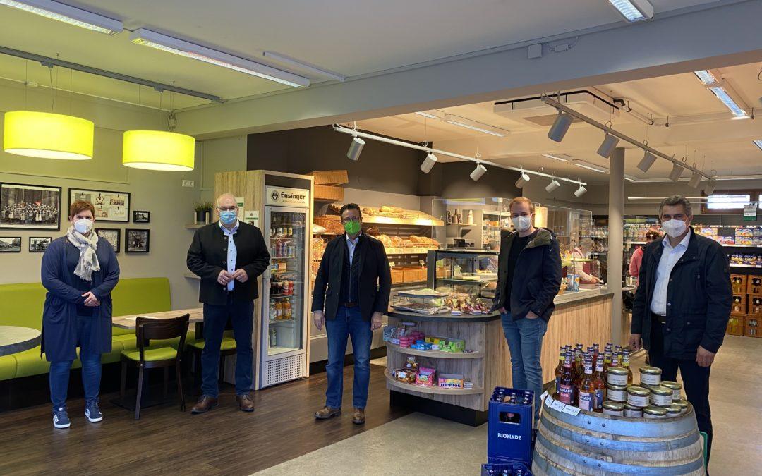 Bürgermarkt erfährt hohe Resonanz, Nahwärmenetzprojekt in greifbarer Nähe – zu Besuch in Neunkirchen