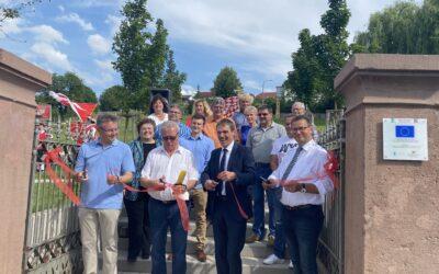 Bürgerpark Osterburken offiziell eingeweiht